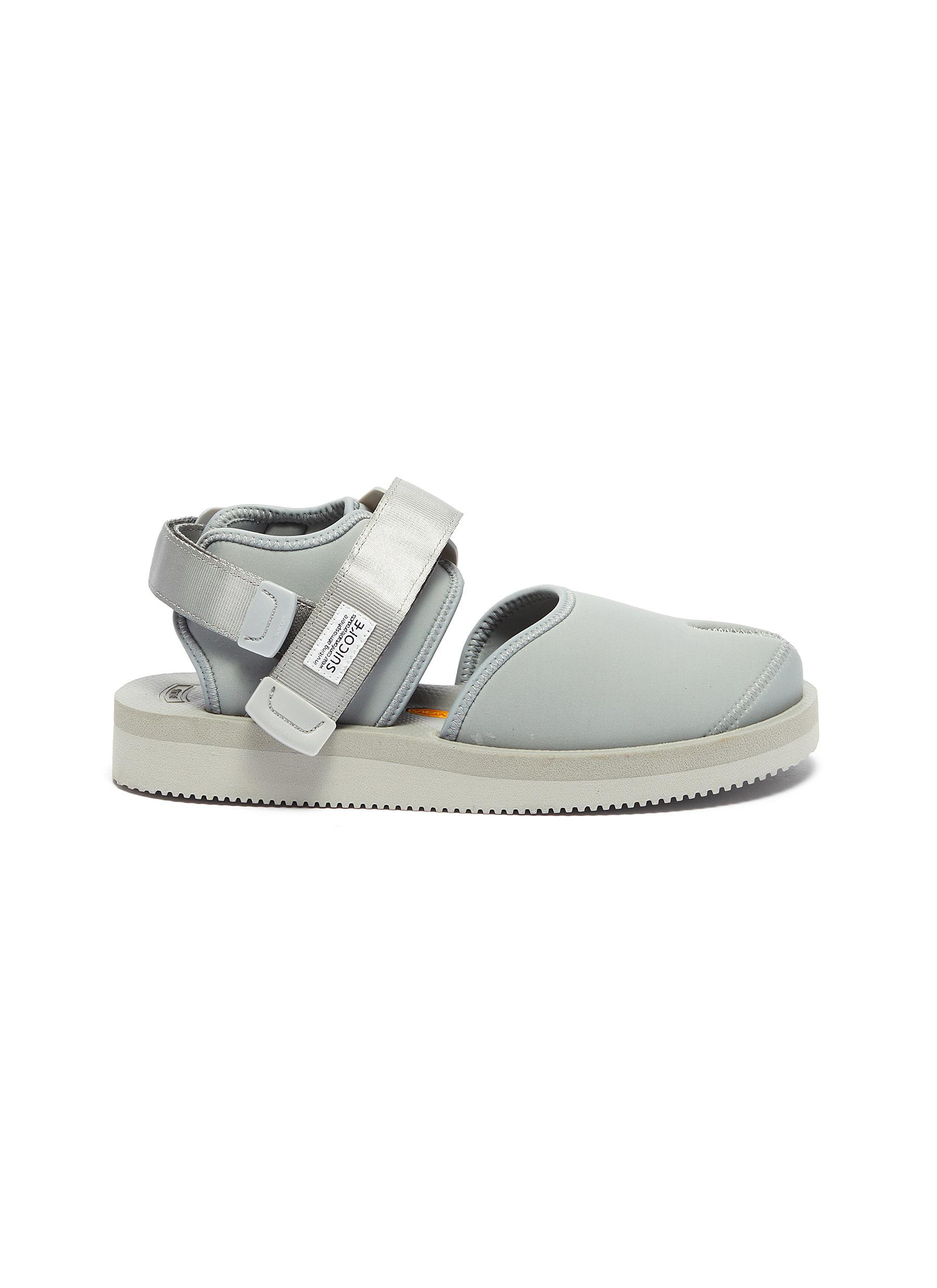 Bita-V ankle strap tabi sandals by Suicoke