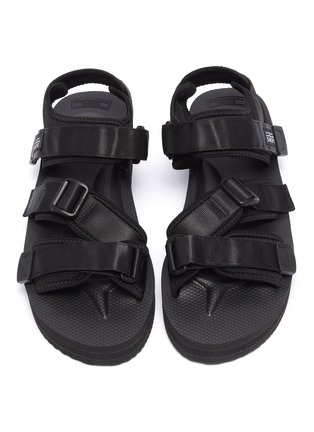 Detail View - Click To Enlarge - SUICOKE - 'KISEE-VPO' strappy platform sandals