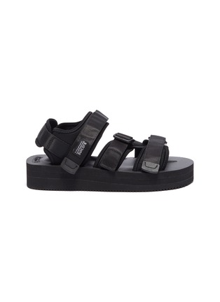 Main View - Click To Enlarge - SUICOKE - 'KISEE-VPO' strappy platform sandals