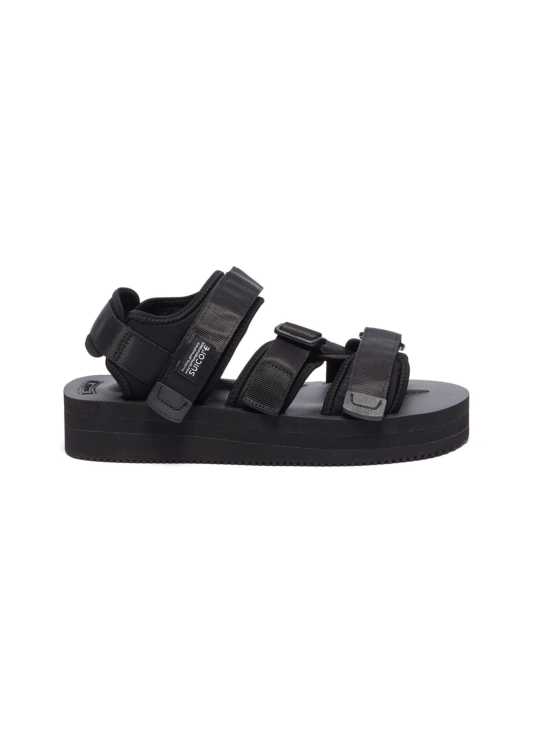 KISEE-VPO strappy platform sandals by Suicoke