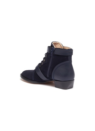 Detail View - Click To Enlarge - CHLOÉ - Double buckle kids boots
