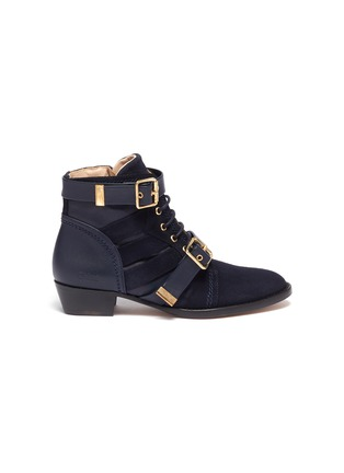 Main View - Click To Enlarge - CHLOÉ - Double buckle kids boots