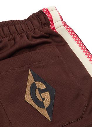 - GUCCI - Mesh stripe outseam jogging pants