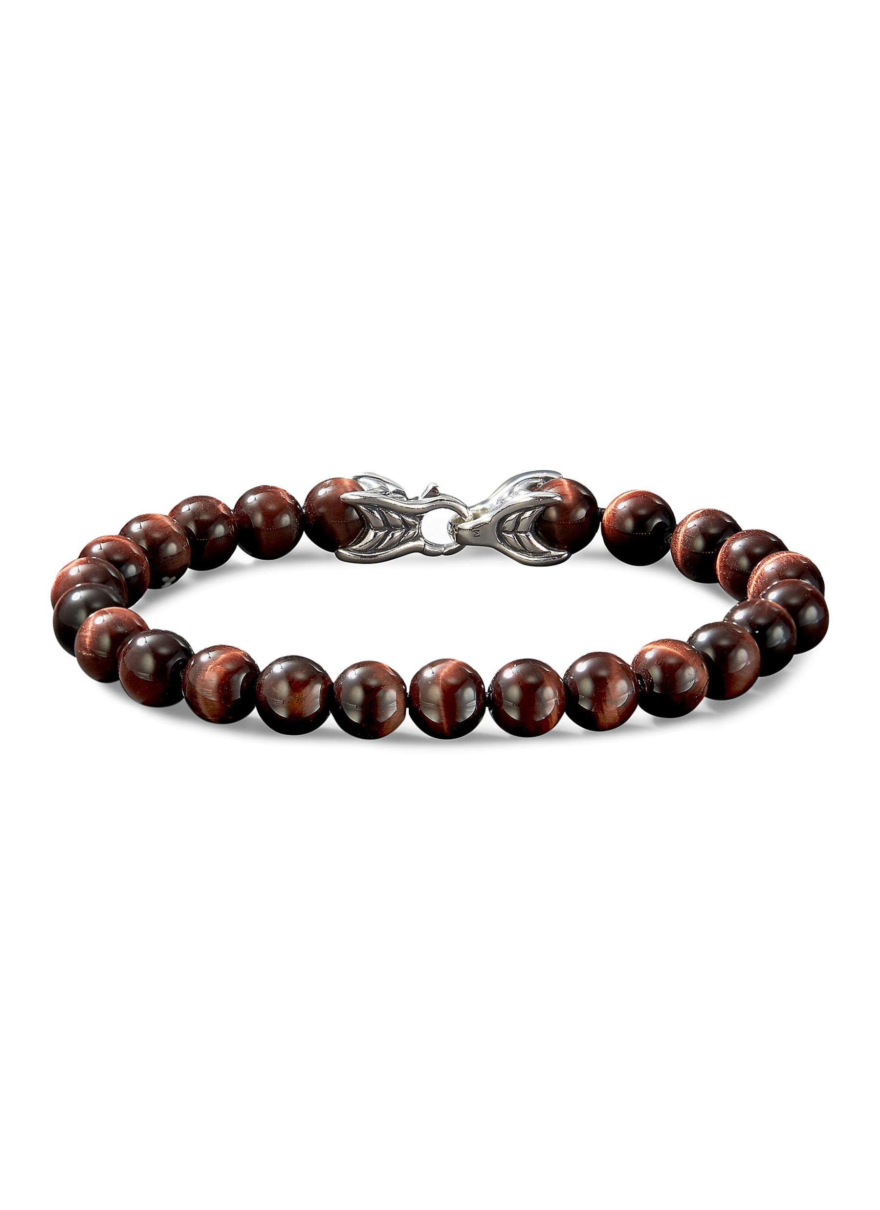 e792e51889992 DAVID YURMAN | 'Spiritual Beads' tigers eye bracelet | Men | Lane ...