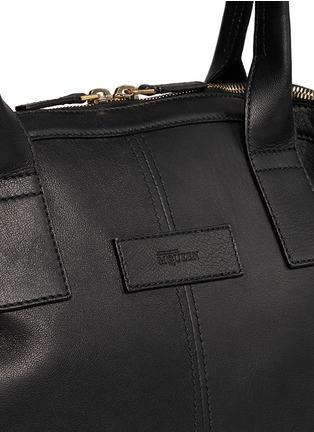 - Alexander McQueen - Leather manta bag