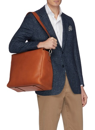 Front View - Click To Enlarge - CONNOLLY - Leather deck bag