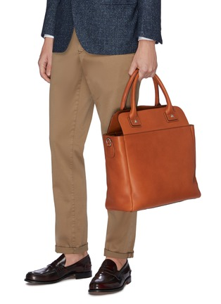 Figure View - Click To Enlarge - CONNOLLY - Leather deck bag