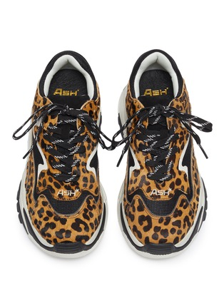 Detail View - Click To Enlarge - ASH - 'Addict Ter' chunky outsole cheetah print sneakers