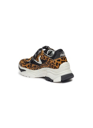 - ASH - 'Addict Ter' chunky outsole cheetah print sneakers