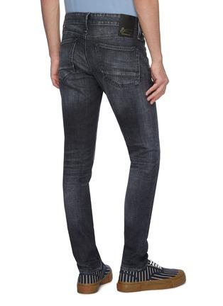 Back View - Click To Enlarge - DENHAM - 'Bolt GRLHB' washed skinny jeans