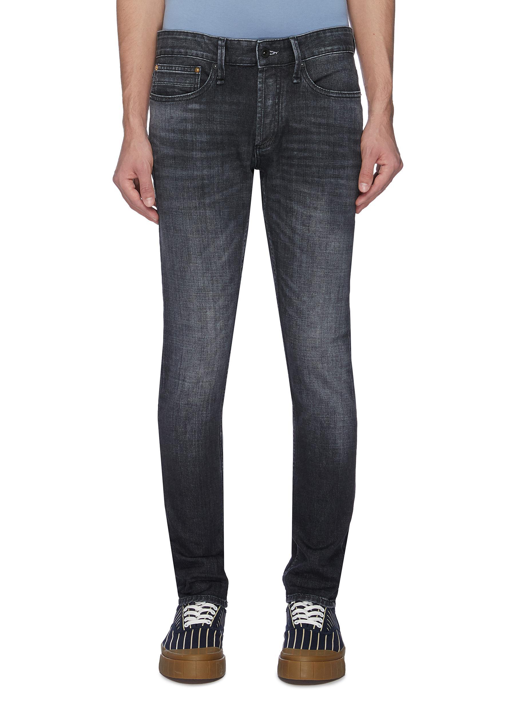'Bolt GRLHB' washed skinny jeans