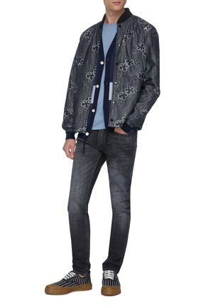 Figure View - Click To Enlarge - DENHAM - 'Bolt GRLHB' washed skinny jeans