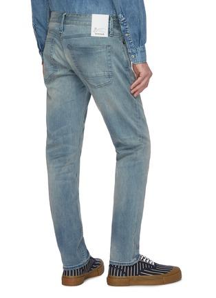 Back View - Click To Enlarge - DENHAM - 'Razor ZB' washed slim jeans