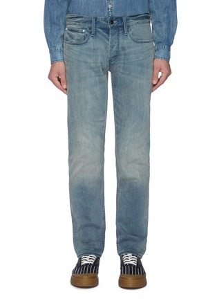 Main View - Click To Enlarge - DENHAM - 'Razor ZB' washed slim jeans