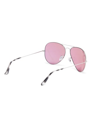 Figure View - Click To Enlarge - RAY-BAN - x Team Wang metal aviator sunglasses
