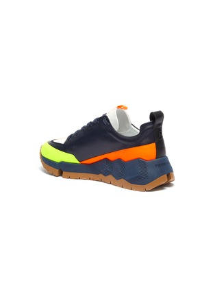 - PIERRE HARDY - 'Street Life' colourblock panelled leather sneakers
