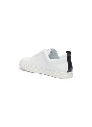 - PIERRE HARDY - 'Slider' elastic band leather slip-on sneakers