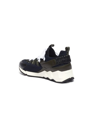 - PIERRE HARDY - 'Trek Comet' patchwork sneakers