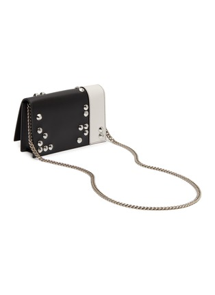 Detail View - Click To Enlarge - ALEXANDER MCQUEEN - Skull stud mini leather bag
