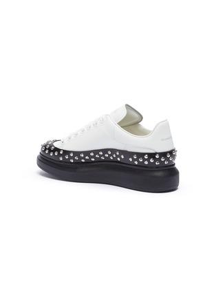 - ALEXANDER MCQUEEN - 'Larry' contrast sole studded sneakers