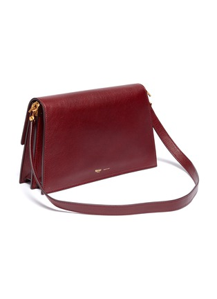 Detail View - Click To Enlarge - MÉTIER - 'Roma' small leather shoulder bag