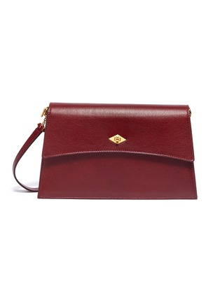 Main View - Click To Enlarge - MÉTIER - 'Roma' small leather shoulder bag