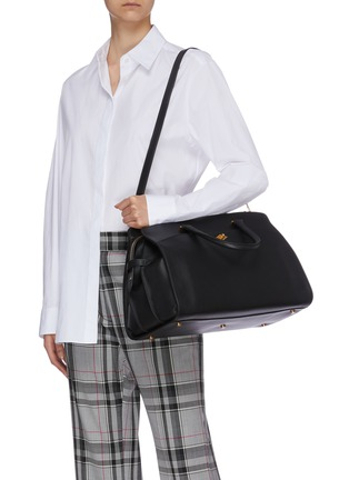 Front View - Click To Enlarge - MÉTIER - 'Private Eye' leather bag