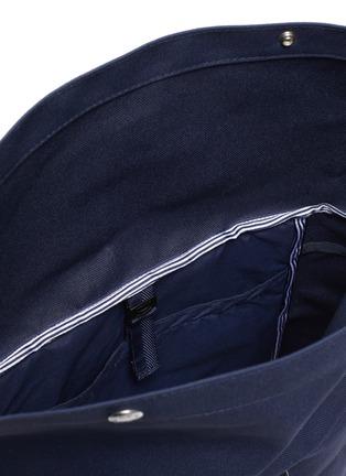 Detail View - Click To Enlarge - NANAMICA - 'Cycling' Cordura® nylon twill backpack