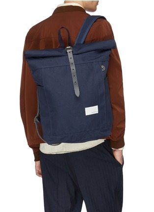 Figure View - Click To Enlarge - NANAMICA - 'Cycling' Cordura® nylon twill backpack