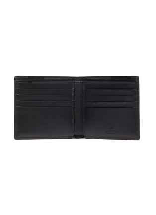 Figure View - Click To Enlarge - VALENTINO - x UNDERCOVER VLOGO skull print leather bi-fold wallet