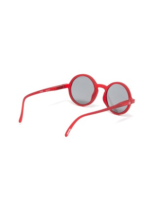 Figure View - Click To Enlarge - IZIPIZI - 'G' polycarbonate round frame kids sunglasses