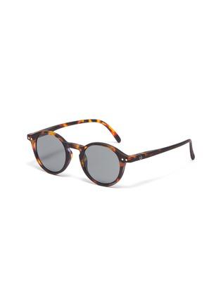 Main View - Click To Enlarge - IZIPIZI - 'D' tortoiseshell effect polycarbonate kids sunglasses
