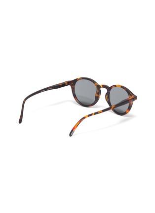 Figure View - Click To Enlarge - IZIPIZI - 'D' tortoiseshell effect polycarbonate kids sunglasses