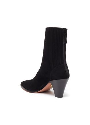 - AQUAZZURA - 'Saint Honore' suede ankle boots