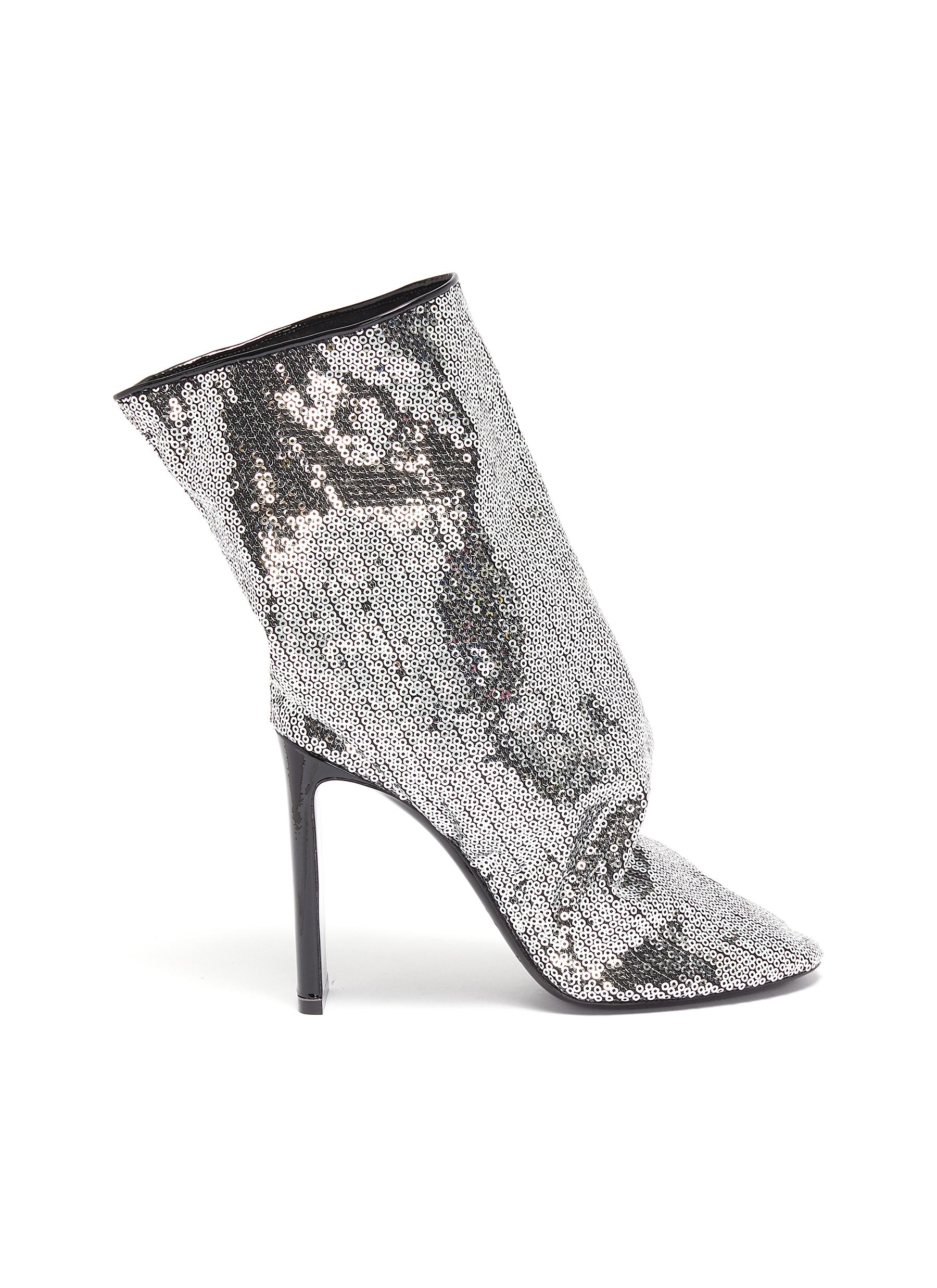 DArcy sequinned ankle boots by Nicholas Kirkwood