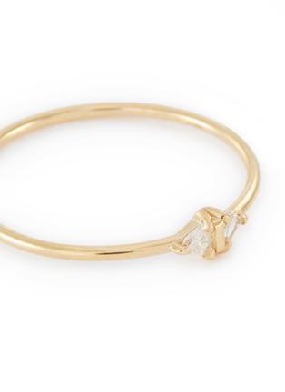 Detail View - Click To Enlarge - SARAH & SEBASTIAN - 'Sepal' diamond 10k yellow gold ring