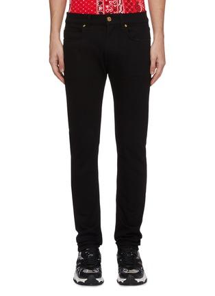 Main View - Click To Enlarge - VERSACE - Bandana waist jeans