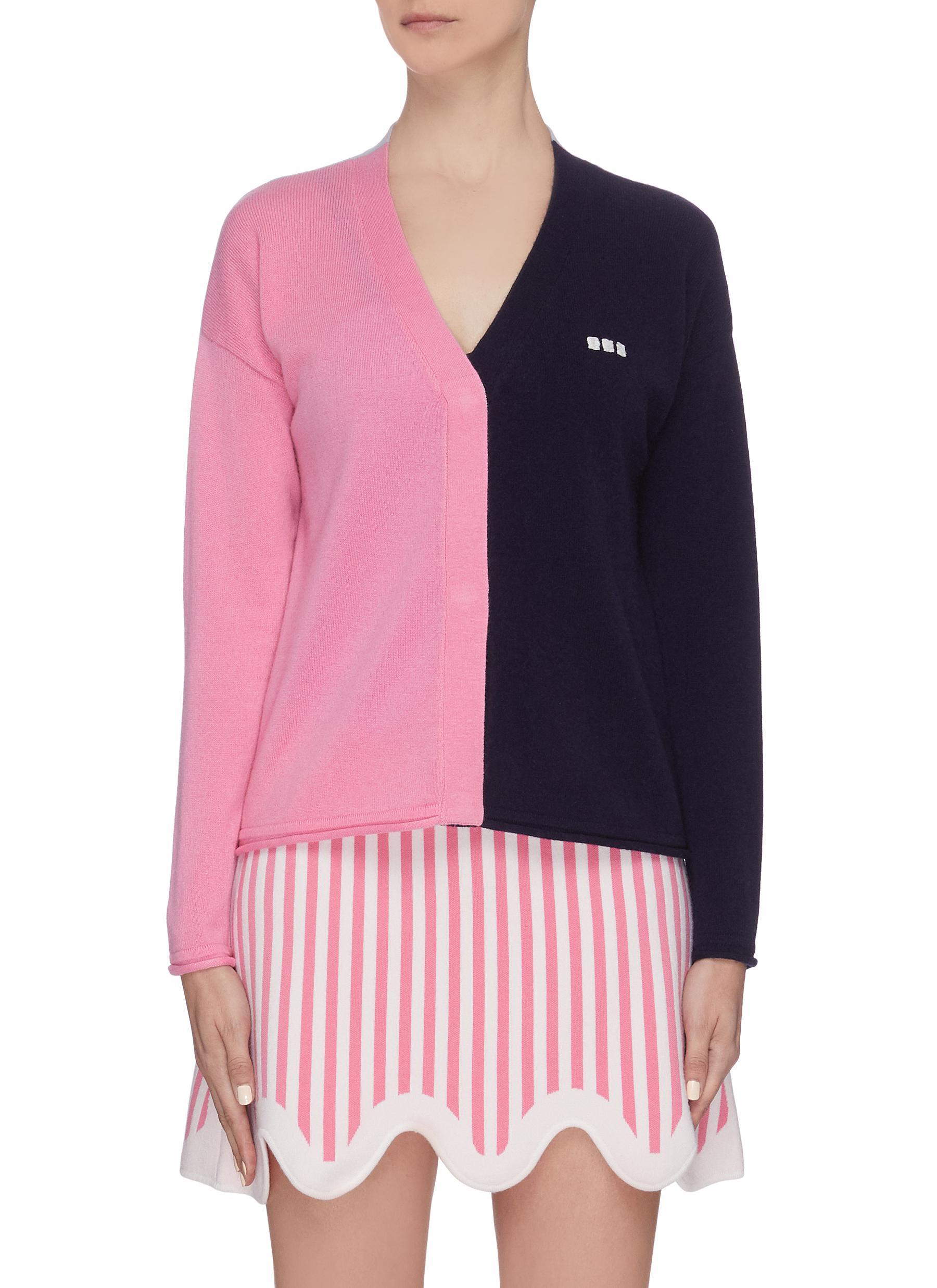 Buy Ph5 Knitwear Colourblock cardigan