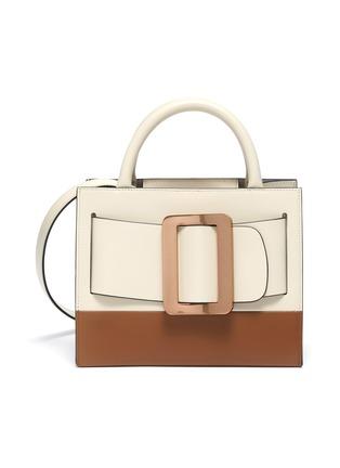 Main View - Click To Enlarge - BOYY - 'Bobby 23' small colourblock buckle top handle bag