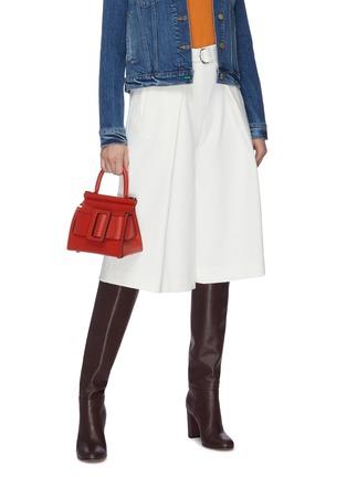Figure View - Click To Enlarge - BOYY - 'Karl 19' mini buckle top handle bag