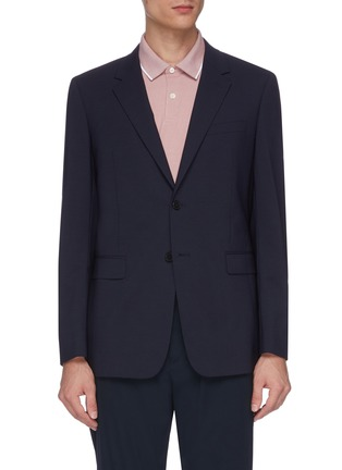 Main View - Click To Enlarge - THEORY - 'Chambers' virgin wool soft blazer