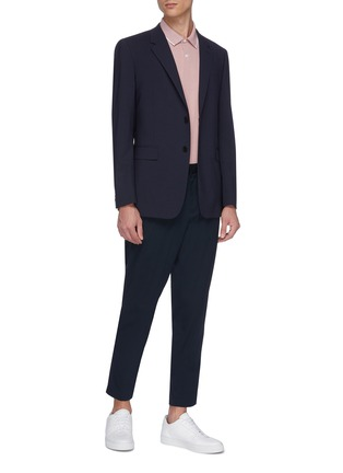 Figure View - Click To Enlarge - THEORY - 'Chambers' virgin wool soft blazer
