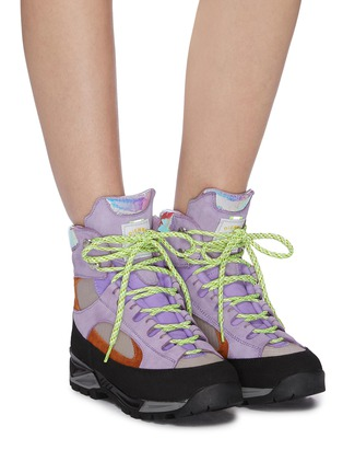 Figure View - Click To Enlarge - DIEMME - 'Civetta' chunky outsole colourblock hiking boots