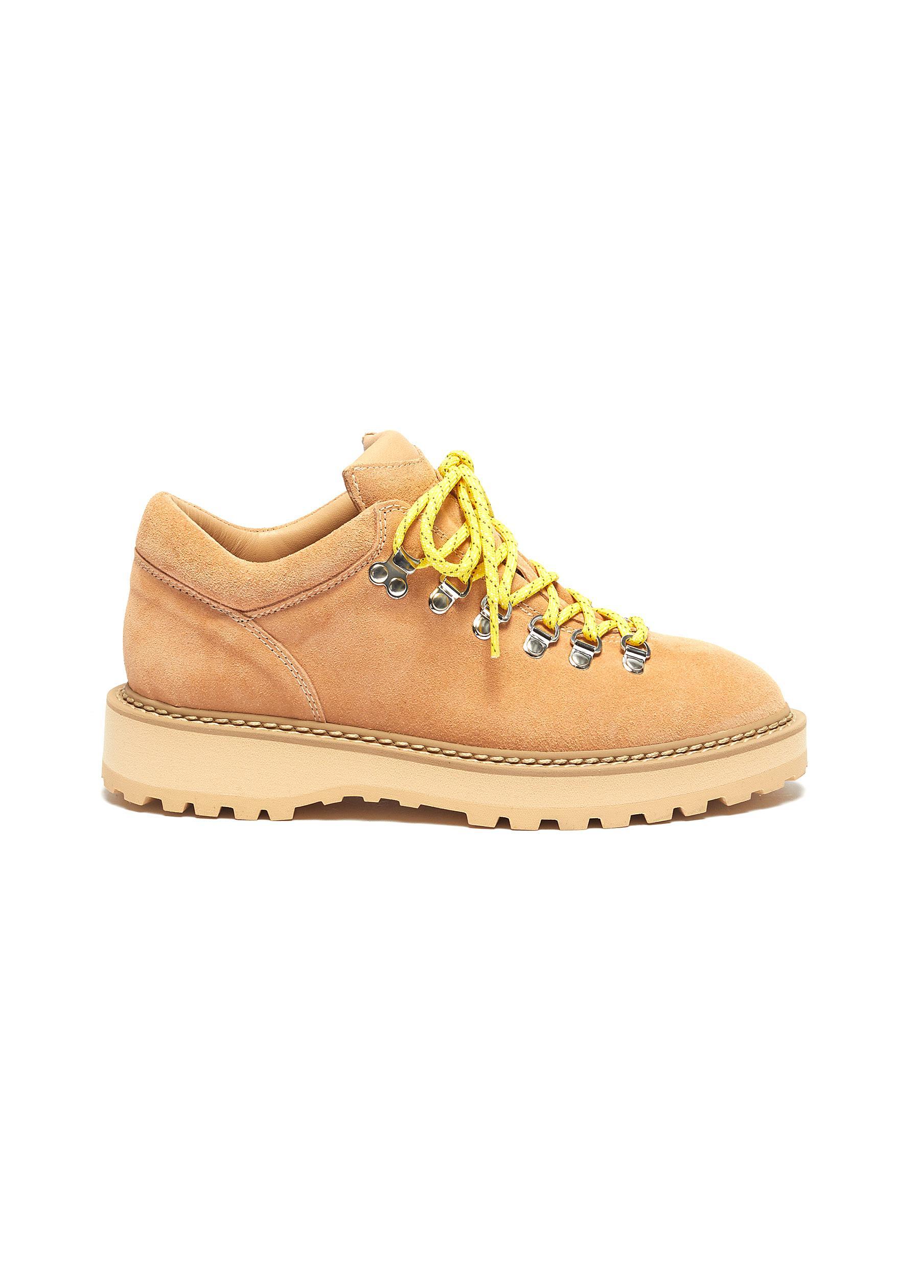 Monfumu suede hiking boots by Diemme