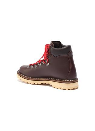 - DIEMME - 'Roccia' contrast lace calf hiker boots