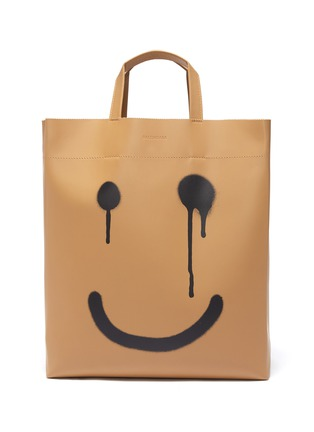 Main View - Click To Enlarge - BALENCIAGA - Happy/ Not Happy medium market tote bag