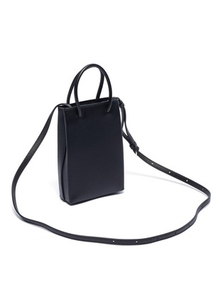 Detail View - Click To Enlarge - BALENCIAGA - 'Shopping Phone Holder' crossbody bag
