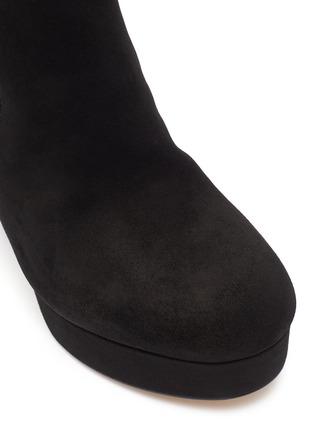 Detail View - Click To Enlarge - SAM EDELMAN - 'Abella' suede platform boots