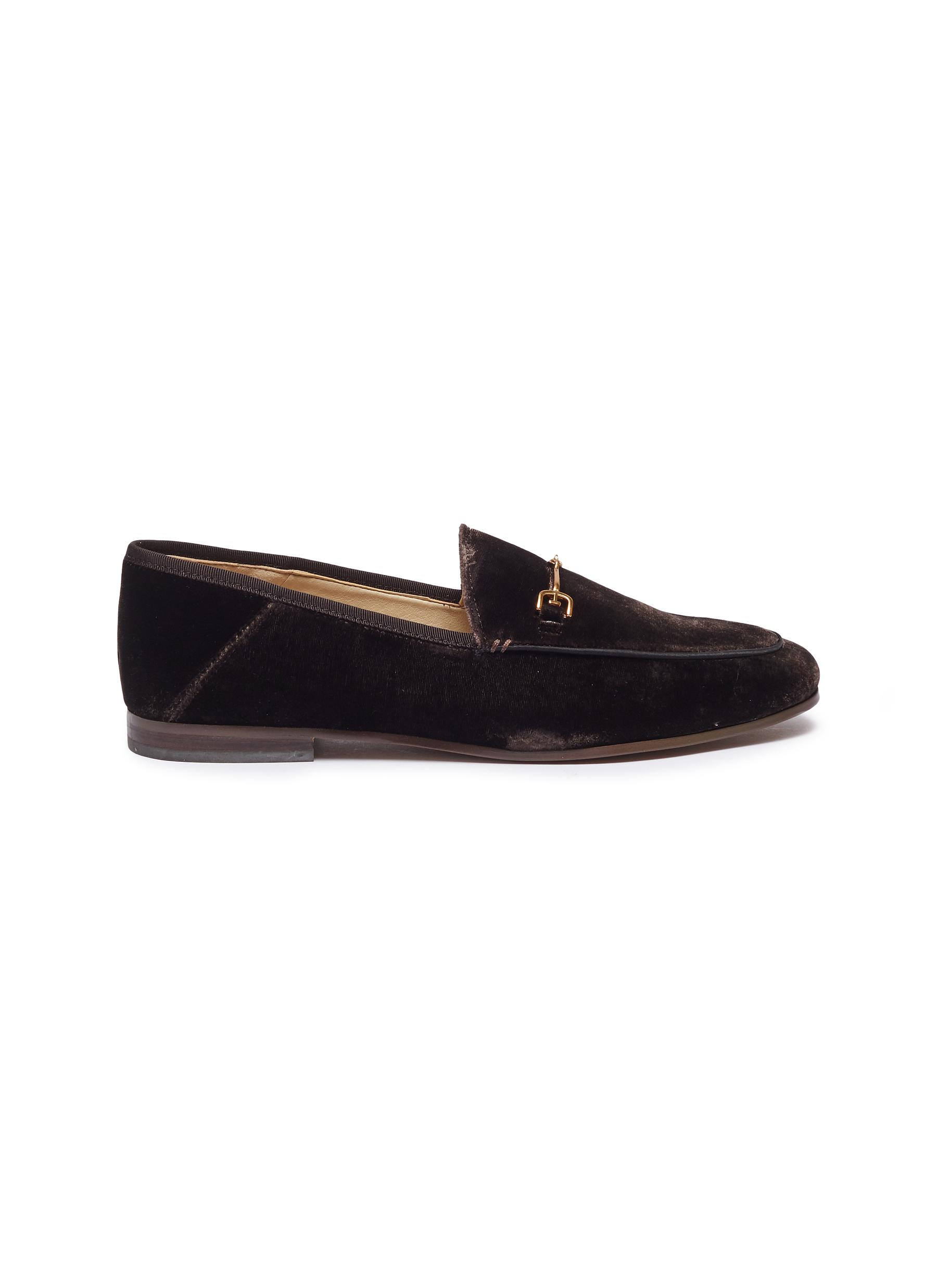 Loraine horsebit suede step-in loafers by Sam Edelman