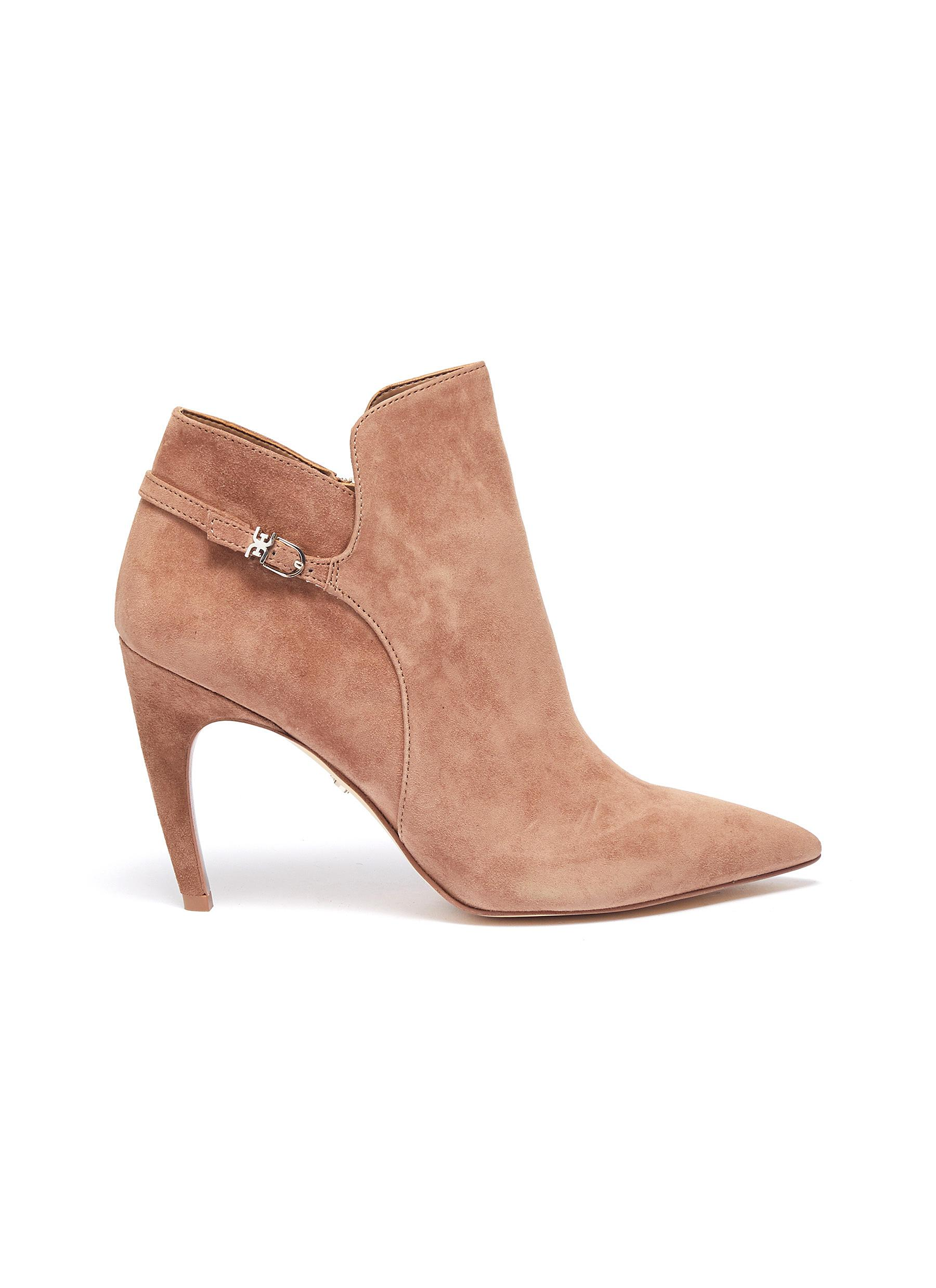 Fiora suede ankle boots by Sam Edelman
